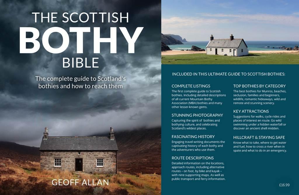 Scottish Bothy Map Scottish Bothy Bible guide book   Wild Things Publishing Scottish Bothy Map